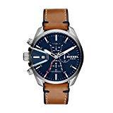 Diesel Herren Chronograph Quarz Uhr mit Leder Armband DZ44...