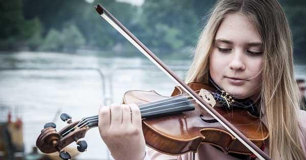 Violine für linke Hände