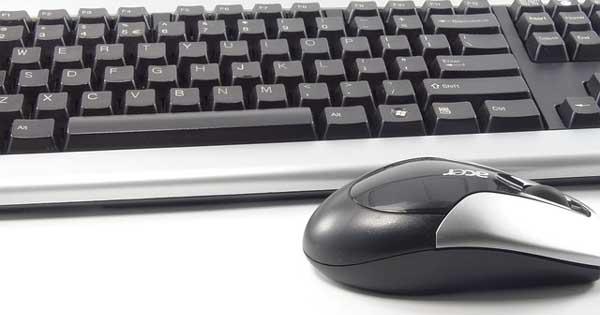 Computer Maus und Tastatur