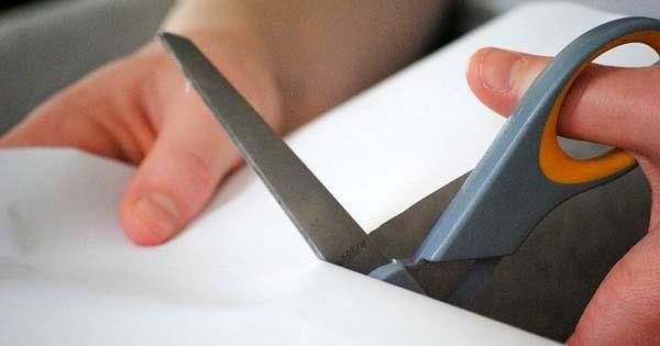Haushaltsschere für Linkshänder